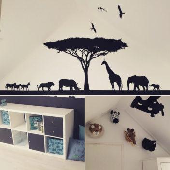 Een safari kamer!